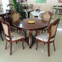 Столы и столики - Стол Гранд круг (массив бука), 0