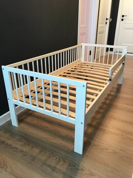 Кроватки - Кровать IKEA гулливер + матрас promtex orient, 0