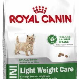Корма  - Mini Light Weight Care роял канин royal canin 12 кг, 0