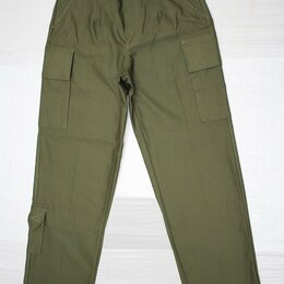 Одежда и обувь - Оригинальные брюки армии Нидерландов (Голландия), цвет олива, 0