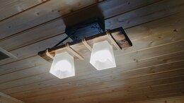 Люстры и потолочные светильники - Люстра ручной работы из дерева, 0