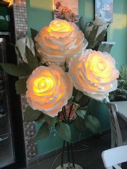 Ночники и декоративные светильники - Роза торшер, светильник, ночник, подарок, 0