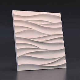 Стеновые панели - Зд панель Острые волны, 0