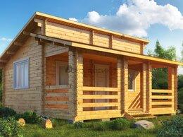 Готовые строения - Садовый домик из мини-бруса 6х6 «Этрусское шале», 0