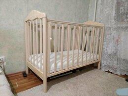Кроватки - Кроватка - попереч. маятник + матрас + балдахин, 0