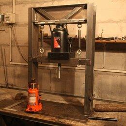 Пресс-станки - Пресс гидравлический вертикальный ручной 50 тонн, 0