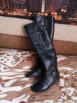 Сапоги - Ботфорты-высокие сапоги зимние 39 размер, 0