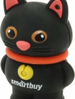 USB Flash drive - Подарочная USB-флешка Smartbuy 16GB Черный кот…, 0