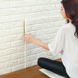 Стеновые панели - Самоклеющиеся 3д-панели-блоки интерьерного покрытия, 0