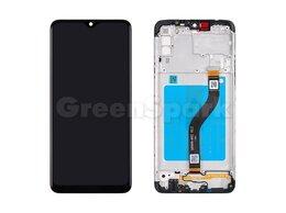 Дисплеи и тачскрины - Дисплей для Samsung A207F Galaxy A20s в рамке +…, 0