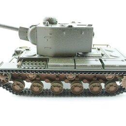 Радиоуправляемые игрушки - P/У танк Torro КВ-2 1/16  2.4G, СССР, зеленый, ИК-пушка, деревянная коробка, 0