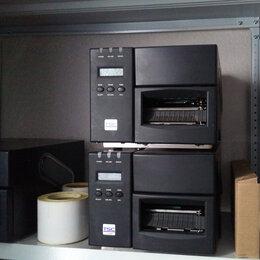 Принтеры чеков, этикеток, штрих-кодов - Термотрансферный принтер этикеток TSC TTP-246M, 0