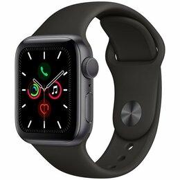 Умные часы и браслеты - Apple Watch S5 40mm Space Grey Sport Band, 0