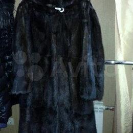Шубы - Шуба норковая, в хорошем состоянии,из цельных шкурок 44-46 размер., 0