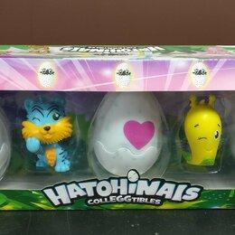 Игровые наборы и фигурки - Хэтчималс набор 3 яйца с фигурками (Hatchimals), 0