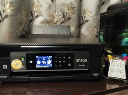 Принтеры и МФУ - Мфу Epson XP-440 (wifi, снпч, печать фото), 0