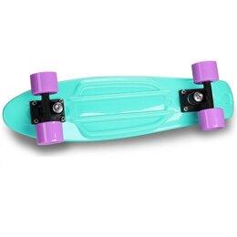 Скейтборды и лонгборды - Круизер INDIGO LS-P2206-D 56,5*15 см Бирюзовый, 0