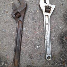 Рожковые, накидные, комбинированные ключи - Ключ разводной, 0