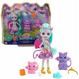 Игровые наборы и фигурки - Enchantimals  Royal Deanna Dragon Family, 0