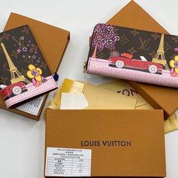 Обложки для документов - Набор: обложка на паспорт + кошелек Louis Vuitton, 0