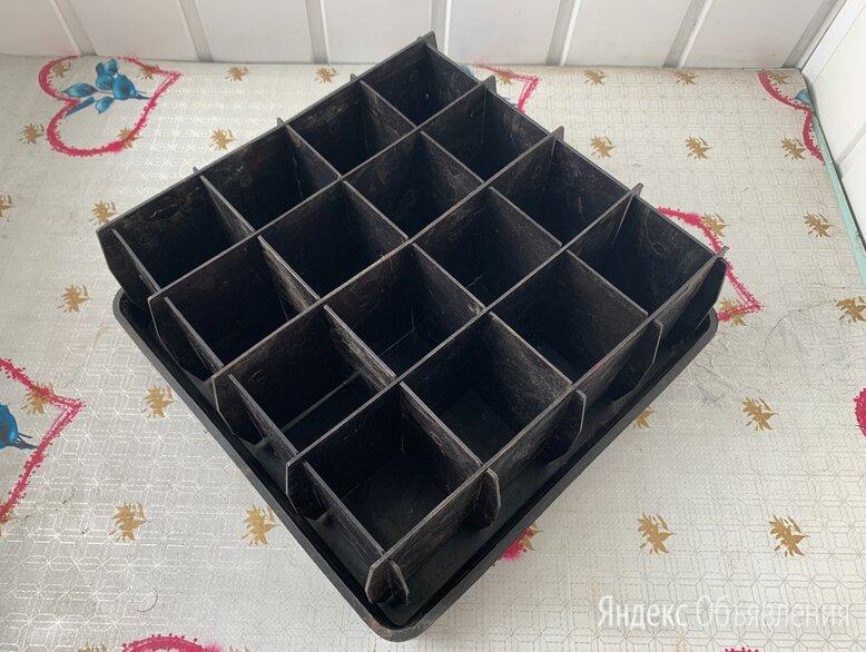 Ящики для рассады разборные по цене 200₽ - Горшки, подставки для цветов, фото 0