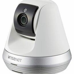 Радио- и видеоняни - Wi-Fi Видеоняня Wisenet SmartCam SNH-V6410PNW, 0