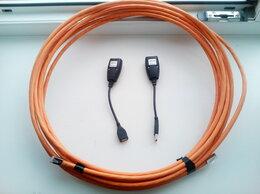 Кабели и разъемы - USB 2.0 Удлинитель 10 м по медной витой паре cat6A, 0