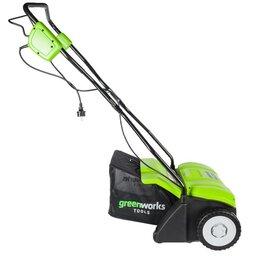 Газонокосилки - Аэратор электрический Greenworks GDT35, 1100W, 35 см, 0