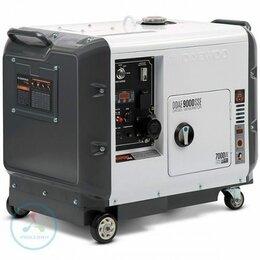 Электрогенераторы - Дизельный генератор Daewoo DDAE 9000SSE, 0