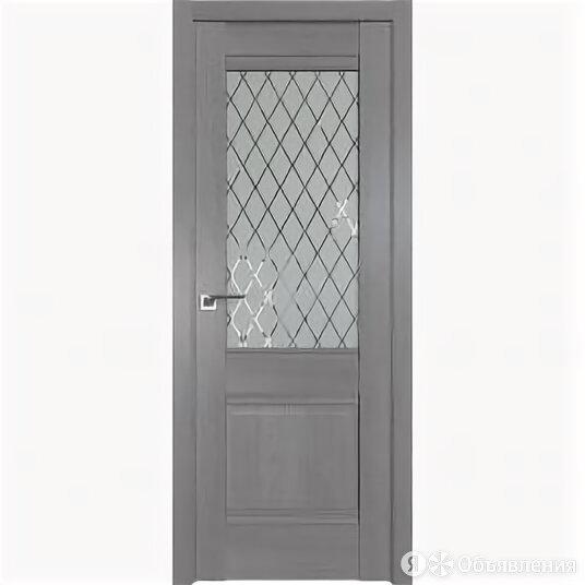 Межкомнатные двери Profil Doors 2XN Грувд серый Стекло Ромб С Филенкой 2000 х... по цене 9810₽ - Межкомнатные двери, фото 0