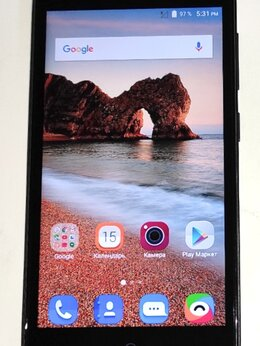 Мобильные телефоны - Смартфон 5 дюймов ZTE Blade L5 Plus рабочий, 0