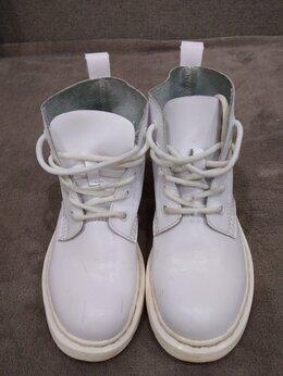 Ботинки - Ботинки белые женские, 0