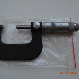 Измерительные инструменты и приборы - Микрометр 25-50, 0