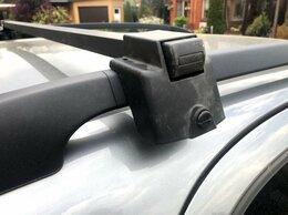 Перевозка багажа - Багажник (дуги) на рейлинги (на крыше) для авто, 0