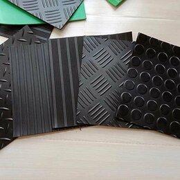 Фактурные декоративные покрытия - Резиновое покрытие в гараж, резина рулон, настил, 0