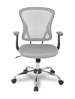 Компьютерные кресла - Кресло College H-8369F/Grey, 0