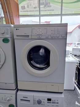 Стиральные машины - LG узкая стиральная машина, 0