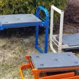 Скамейки - Скамейка складная садовая перевёртыш мягкое сиденье Nika до 120 кг, 0
