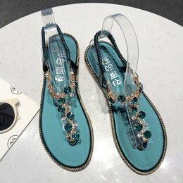 Сандалии - Пляжные дизайнерские сандалии, 0