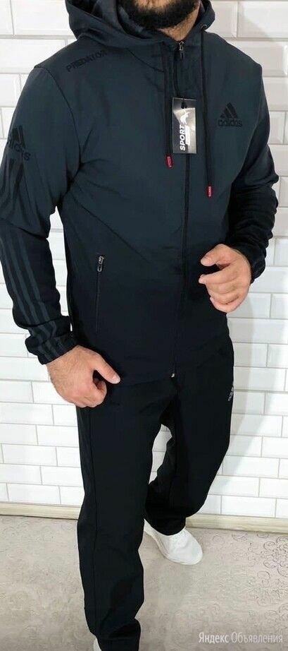 Тёплый мужской спортивный костюм р-ры 48-58 по цене 2850₽ - Спортивные костюмы, фото 0