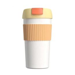 Термосы и термокружки - Термокружка Xiaomi KKF Rainbow (S-U45C) Orange-White, 0