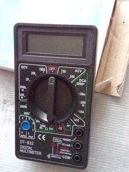 Измерительное оборудование - Мультиметр цифровой в упаковке новый, 0