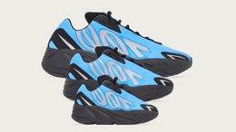 Кроссовки и кеды - Adidas yeezy boost 700 MNVN Bright Cyan, 0