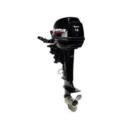 Двигатель и комплектующие  - Мотор лодочный Toyama T15BMS, 0