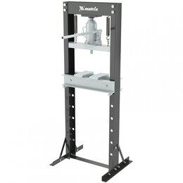 Пресс-станки - Пресс гидравлический, 20 т,640 х 540х 1500 мм (комплект из 2 частей)// Matrix, 0