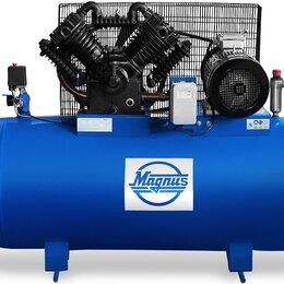 Воздушные компрессоры - Компрессор воздушный Magnus KV-1550/500S (12,5атм.,7,5кВт, 380В,Ф105,55), 0