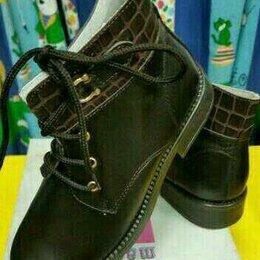 Ботинки - Новые кожаные демисезон ботинки 29 Италия, 0