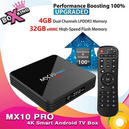 ТВ-приставки и медиаплееры - Тв бокс MX10 PRO с памятью 4-32 новый, 0