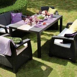 Комплекты садовой мебели - Комплект садовой мебели Corfu Russia Fiesta, коричневый, 0
