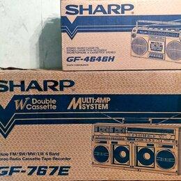 Музыкальные центры,  магнитофоны, магнитолы - Магнитола SHARP GF-767, 0